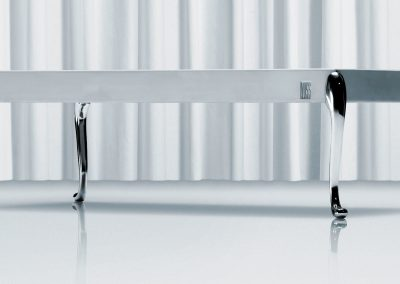 Flightdeck table chrome - by Morten Voss