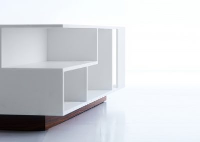 Penthouse Table Composit White